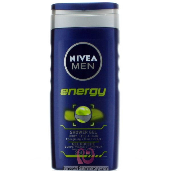 Nivea Shower Energy For Men 250ml