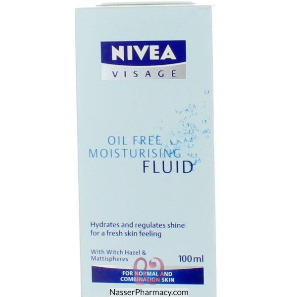 Nivea(e) Visage O/free Moist Fluid 100ml-11499