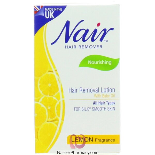 Buy Nair Lemon Hair Removal Lotion 120ml From Nasser Pharmacy In