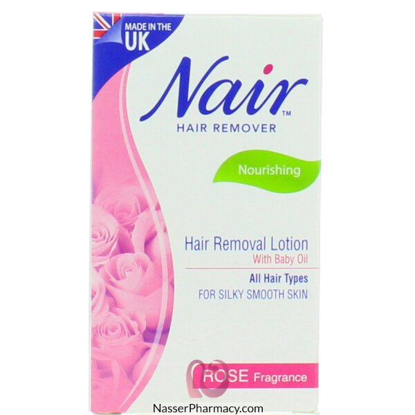 Buy Nair Rose Hair Removal Lotion 120ml From Nasser Pharmacy In