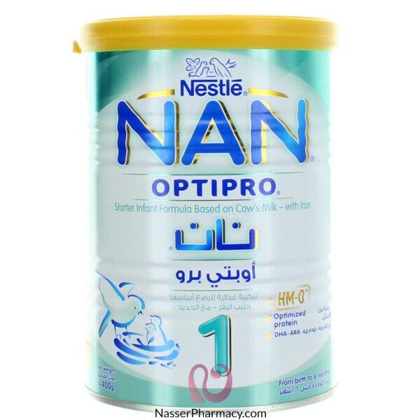 تسوق أونلاين حليب نان 1 من عمر الولادة حتى 6 أشهر 400 جم من صيدليات ناصر البحرين