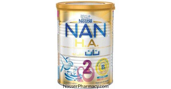 تسوق أونلاين نان اتش ايه Nan H A حليب بودرة للأطفال 6 12 شهر 400 جرام من صيدليات ناصر البحرين