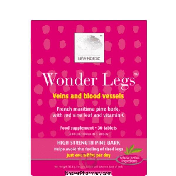 New Nordic Wonder Legs - 30 Tablets