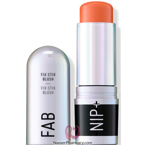 ناب + فاب Nap + Fab فيكس ستيكس Fix Stix حمرة Electric Apricot، وزن 14 جرام