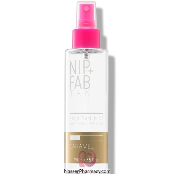 نيب+فاب Nip + Fab  سبراي تان لتسمير البشرة - كاراميل 150 مل