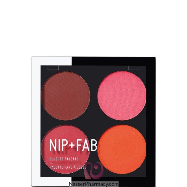 نيب + فاب Nip + Fab باليت أحمر خدود  Blushed Brights بلاشد براق،15 جرام