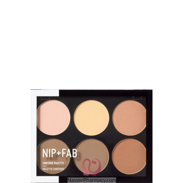 نيب + فاب Nip + Fab  باليت تحديد Contour Palette درجة فاتحة، 20 جرام