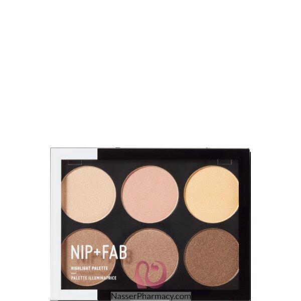 نيب + فاب Nip + Fab  باليت Highlight Palette Stroboscopic منير للبشرة، 20 جرام