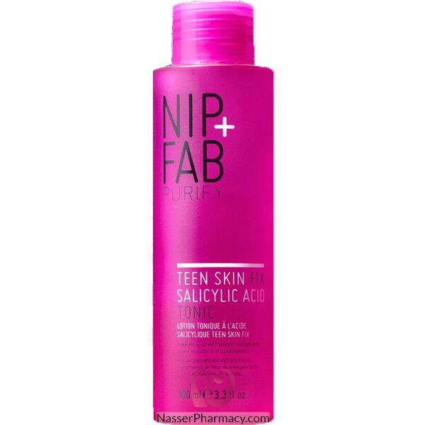 نيب + فاب Nip + Fab تونيك Teen Skin Fix Salicylic Acid Tonic للعناية ببشرة المراهقين،  100 ملل