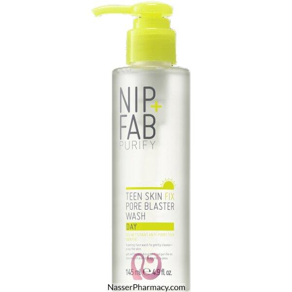 نيب + فاب Nip + Fab غسول نهاري Teen Skin Fix Pore Blaster لتنقية مسام بشرة المراهقين، 145 ملل