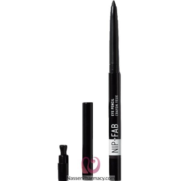 نيب + فاب Nip + Fab قلم عيون -  أسود 01