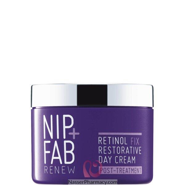 نيب + فاب Nip + Fab كريم نهاري بالريتينول لتجديد البشرة 50 مل