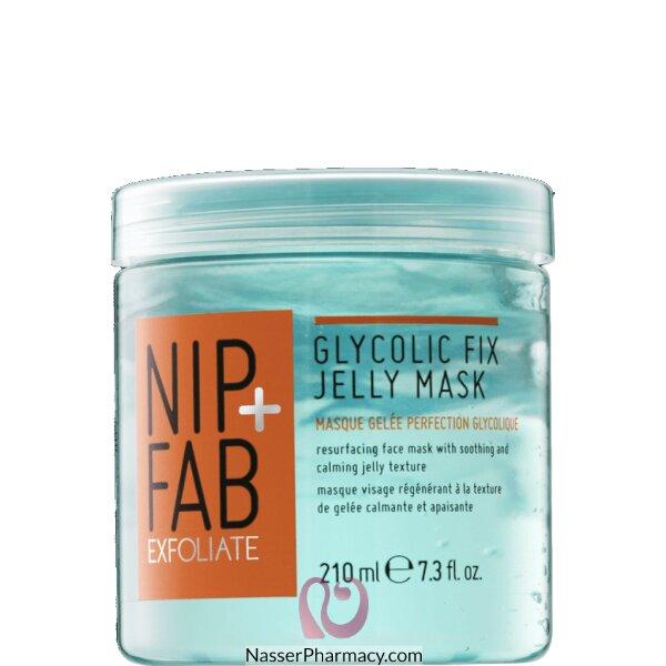 نيب + فاب Nip + Fab  Glycolic  ماسك مقشر للوجه بحمض الجليكوليك 210 مل