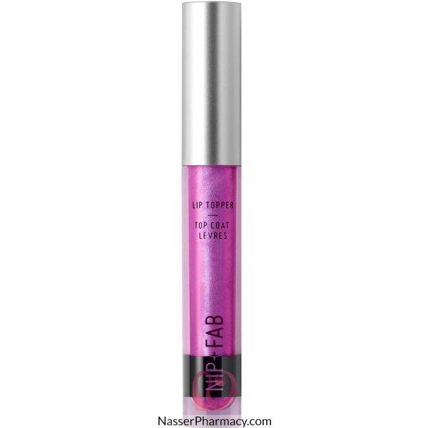 Nip + Fab ملمع للشفاه  لون Pink Rockets، وزن 0.3 جرام