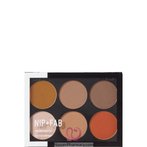 Nip + Fab Contour Palette Dark, 20 Gm