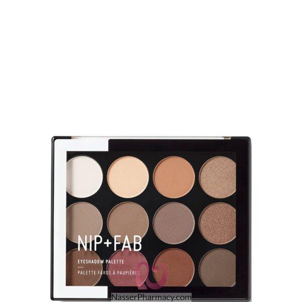 Nip + Fab Eye Shadow Palette Sculpted, 12 Gm