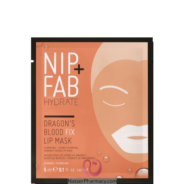 Nip + Fab F Dragons Blood Fix Lip Mask 5ml