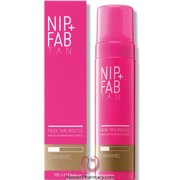 Nip + Fab Faux Tan Core Mousse Caramel 150ml