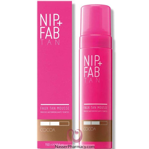Nip + Fab Faux Tan Core Mousse Cocoa 150ml
