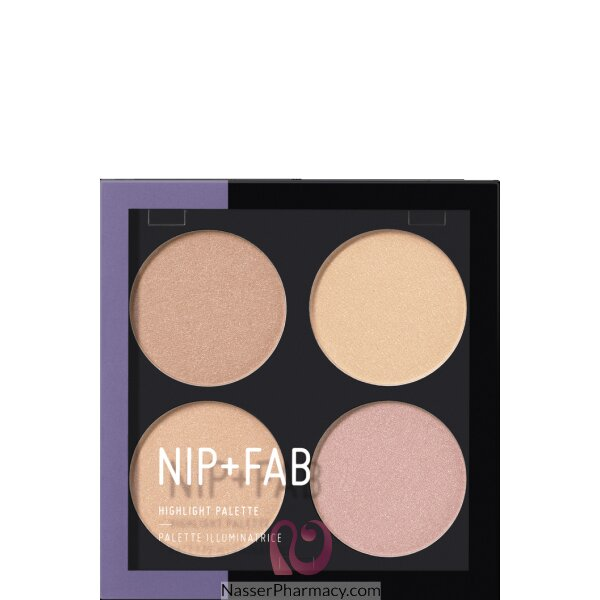 Nip + Fab  Highlight Palette Glow Out 02