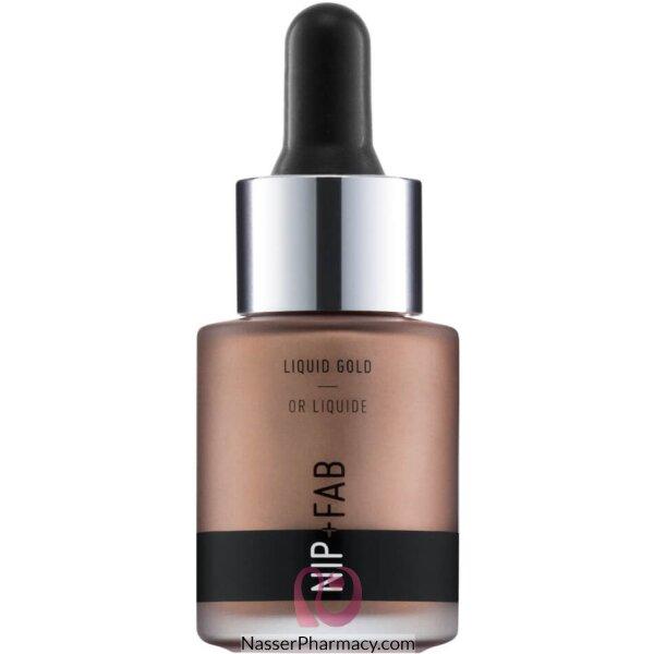 Nip + Fab Liquid Gold Highlighter - Rose Gold, 15 Ml