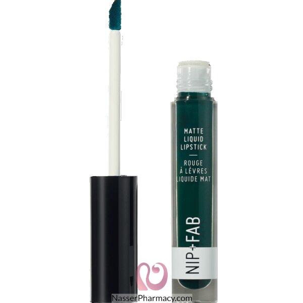 Nip + Fab Matte Liquid Lip Stick Cool Mint 65