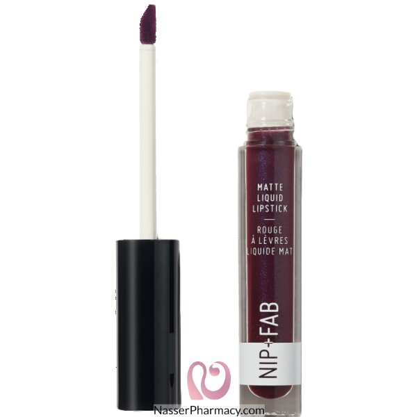 Nip + Fab  Matte Liquid Lipstick Black Grape  55