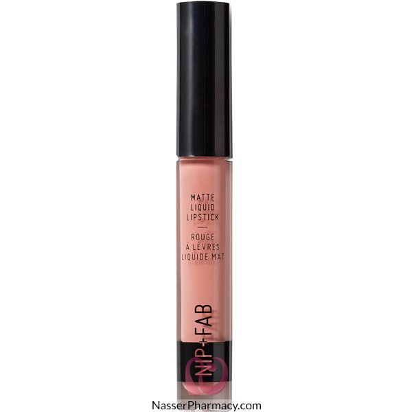 Nip + Fab Matte Liquid Lipstick  Candy, 2.6ml