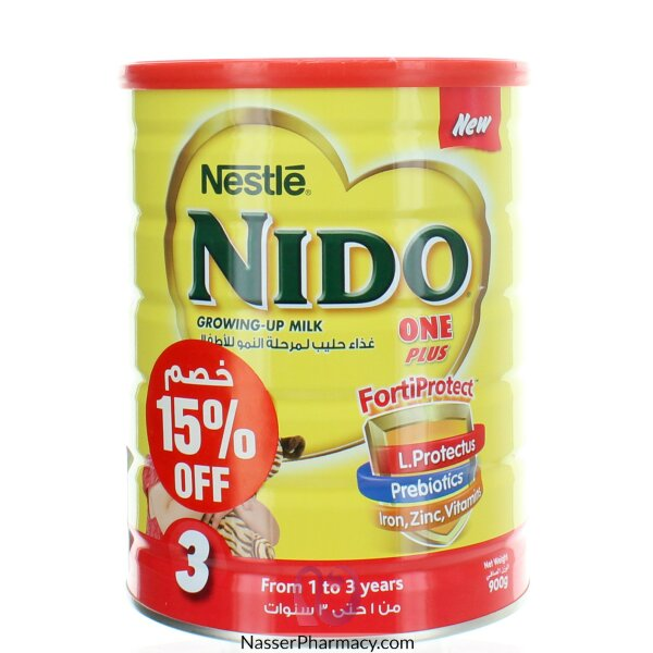NestlÉ  Nido One Plus With Fortiprotect 900g 15% Off