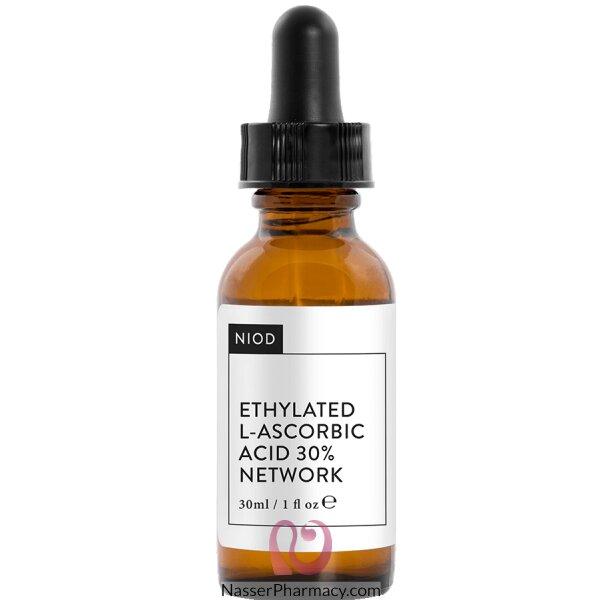 نيود Niod  Ethylated L-ascorbic Acid 30% Network سيروم فيتامين ج المركب 30 ملل
