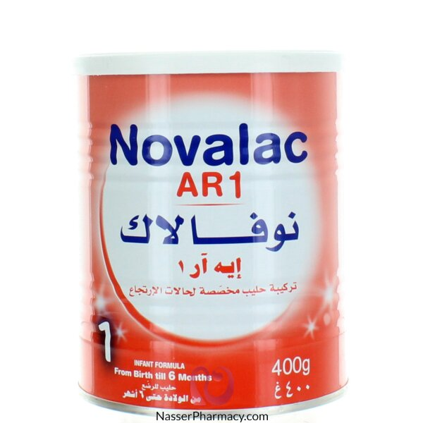 Novalac Ar1  ( Anti Reflux ) 400gm