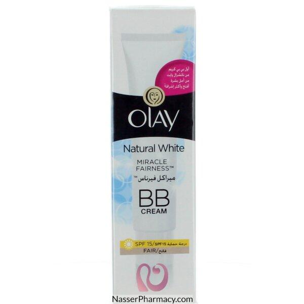 Olay Natural White Bb Spf 15 Cream -50ml