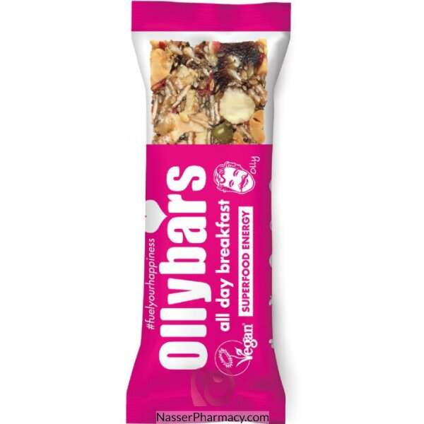 Olly Bars All Day Breakfast Bar 60g