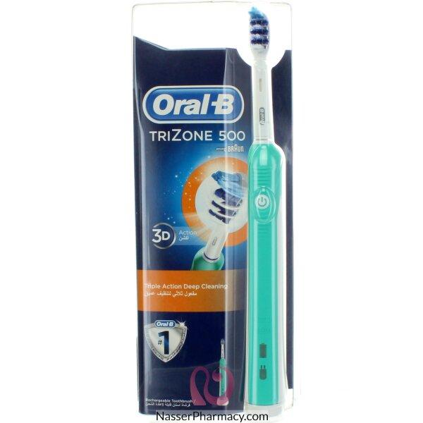 فرشاة الأسنان أورال بي  تريزون 500 قابلة لإعادة الشحن D16.513h