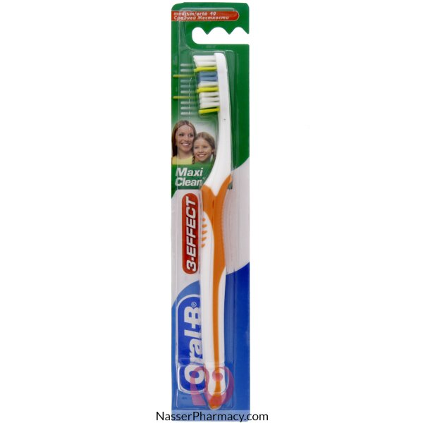 Oral-b 3 Effect Maxi Clean Toothbrush (medium)