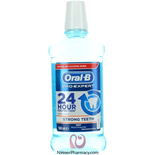 Oral B Mouth Wash Pro Expert Strong Teeth Mint 500ml