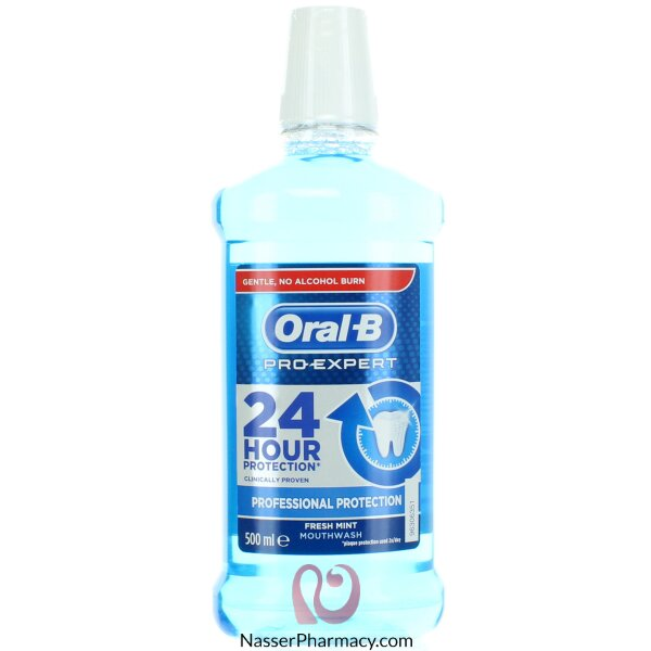 Oral-b Pro-expert Professional Protection Mouthwash 500 Ml