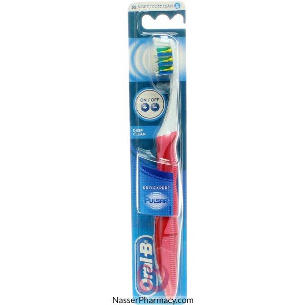 Oral-b Tooth Brush Pulsar Deep Clean 35 Soft