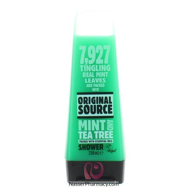 Orig Source S/gel Mint & Tea Tree 250ml-57871