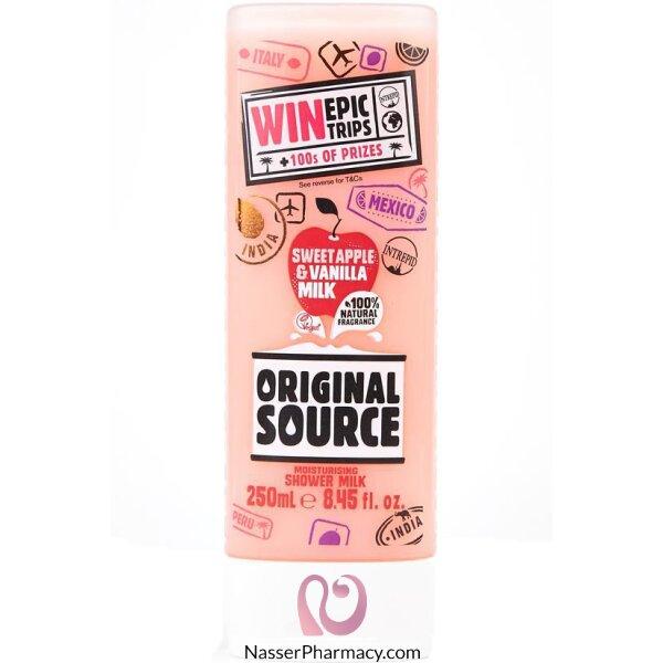 Original Source Apple & Vanilla Shower Milk 250ml