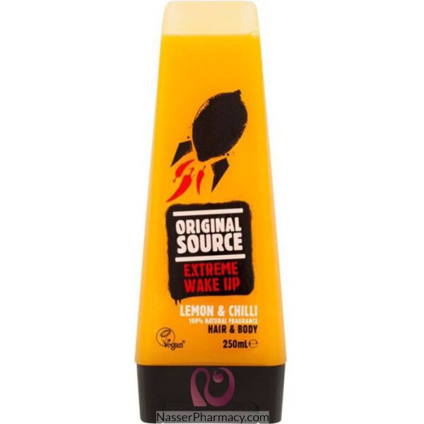 Original Source Extreme Wake Up  Chilli Lemon Shower Gel 250ml