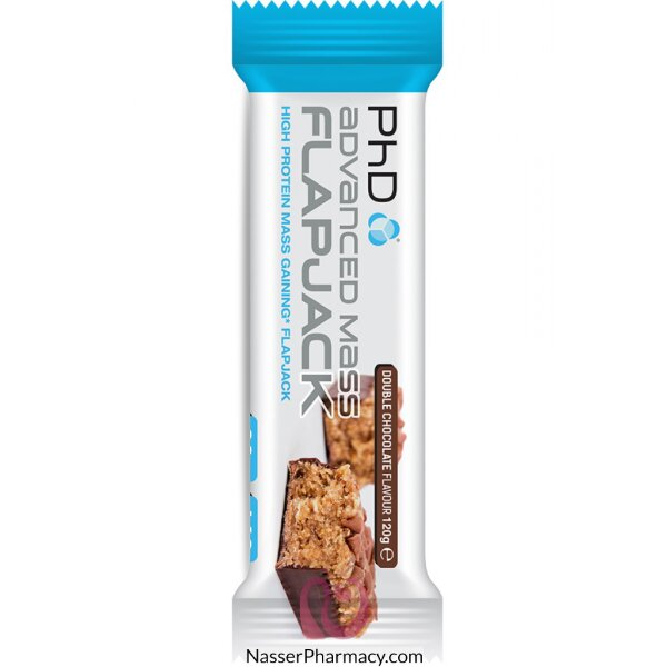 Phd Advanced Mass Flapjack- Double Chocolate 30gx453c 120g