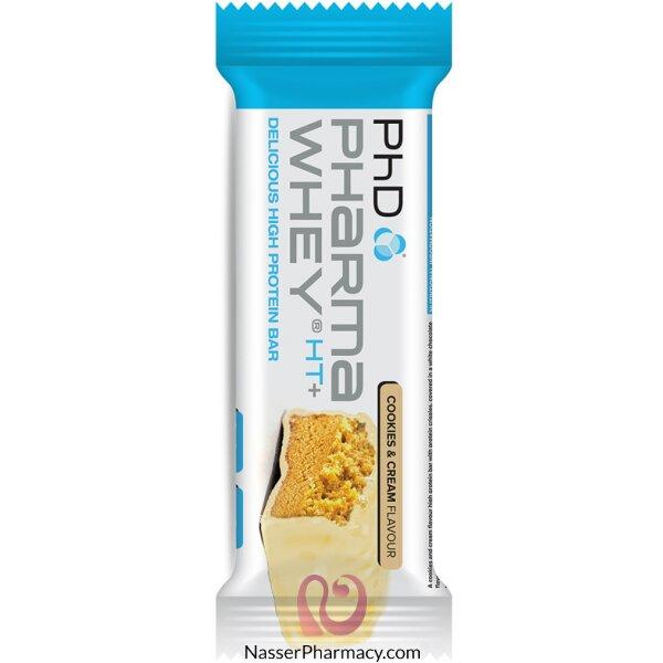 Phd Pharma Whey Cookies & Cream Bar 75g
