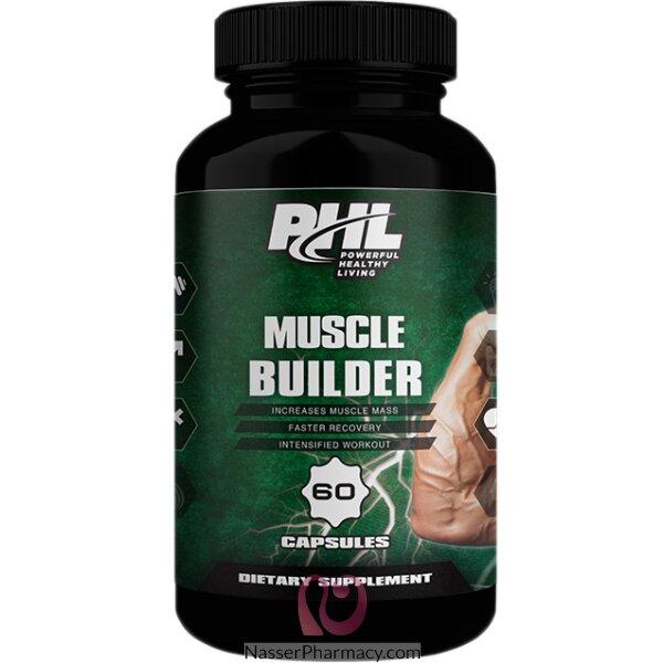 بى اتش ال Phl كبسولات بناء العضلات - 60 كبسولة