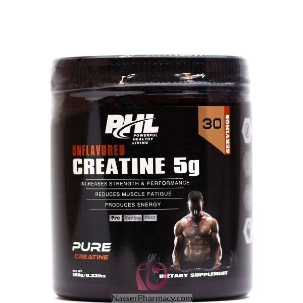 بى اتش ال Phl  كرياتين 5 جرام - 30 جرعة - 150 جرام