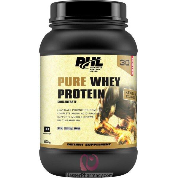 بى اتش ال Phl   واي بروتين فانيليا 1080 جم 2.38 باوند