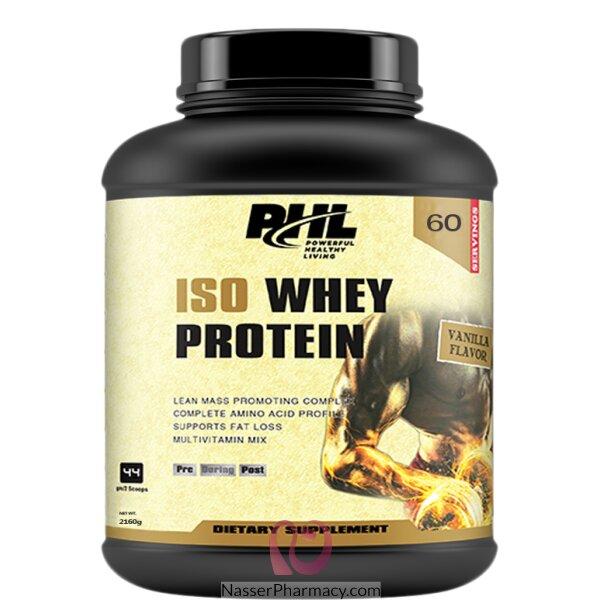 بى اتش ال Phl   واي بروتين فانيليا 1800 جم 4 باوند