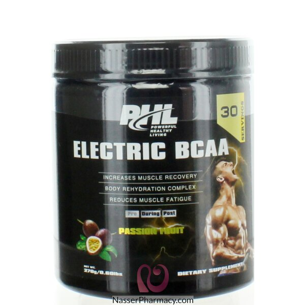 بي اتش ال Phl- Electric Bcaa- زهرة الآلام 270غ