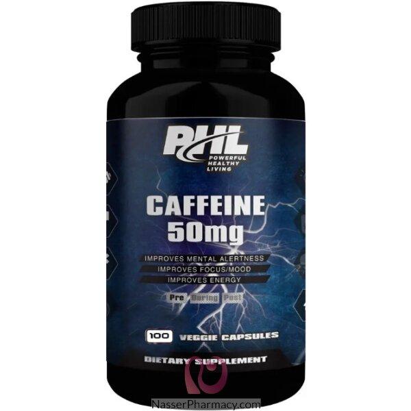 Phl Caffeine 50mg 100 Tab