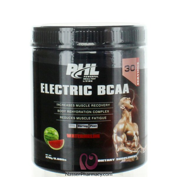 Phl Electric Bcaa Pro-series Powder - Watermelon